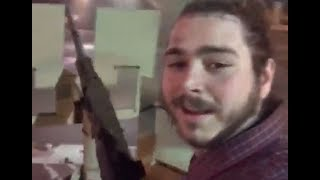 Why Post Malone Was SLAMMED For Driving An Armed Humvee  in Las Vegas | What's Trending Now!