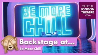 Behind the scenes of Be More Chill