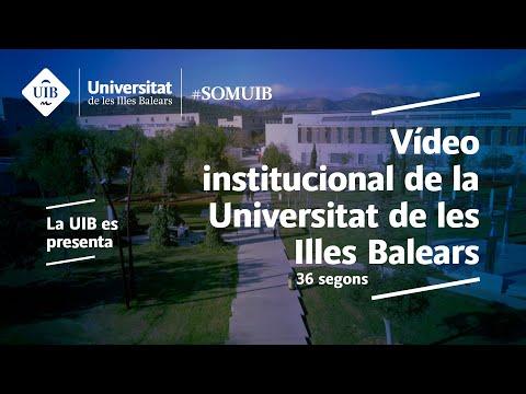Vídeo institucional de la Universitat de les Illes Balears. '36