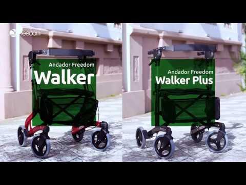Vídeo do produto Andador Walker Plus até 113Kg