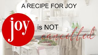 Week 4: Joy is Not Cancelled, Traditional Service