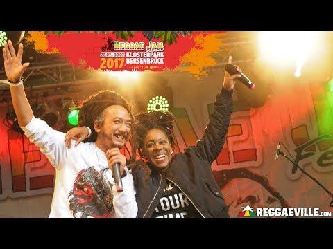 Marla Brown Feat. Ras Muhamad - Zion @Reggae Jam 2017