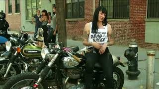 Female only biker club in New York - BBC News