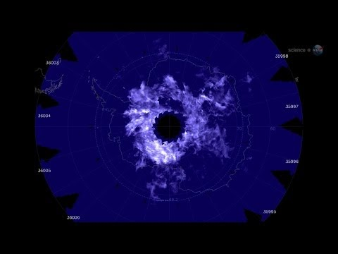 ScienceCasts: Electric-Blue Clouds Appear Over Antarctica