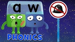 Learn to Read   Phonics for Kids   Long Vowels - AU and AW