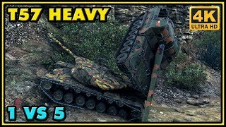 World of Tanks    T57 Heavy - Tank Review - Vloggest