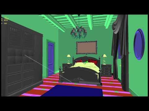 CGI Room Rendering - Version 1