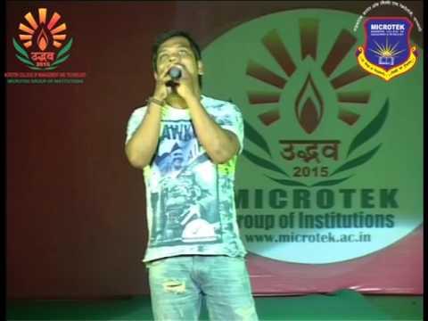 Udbhav 2015 RJ Vishal And Anchor