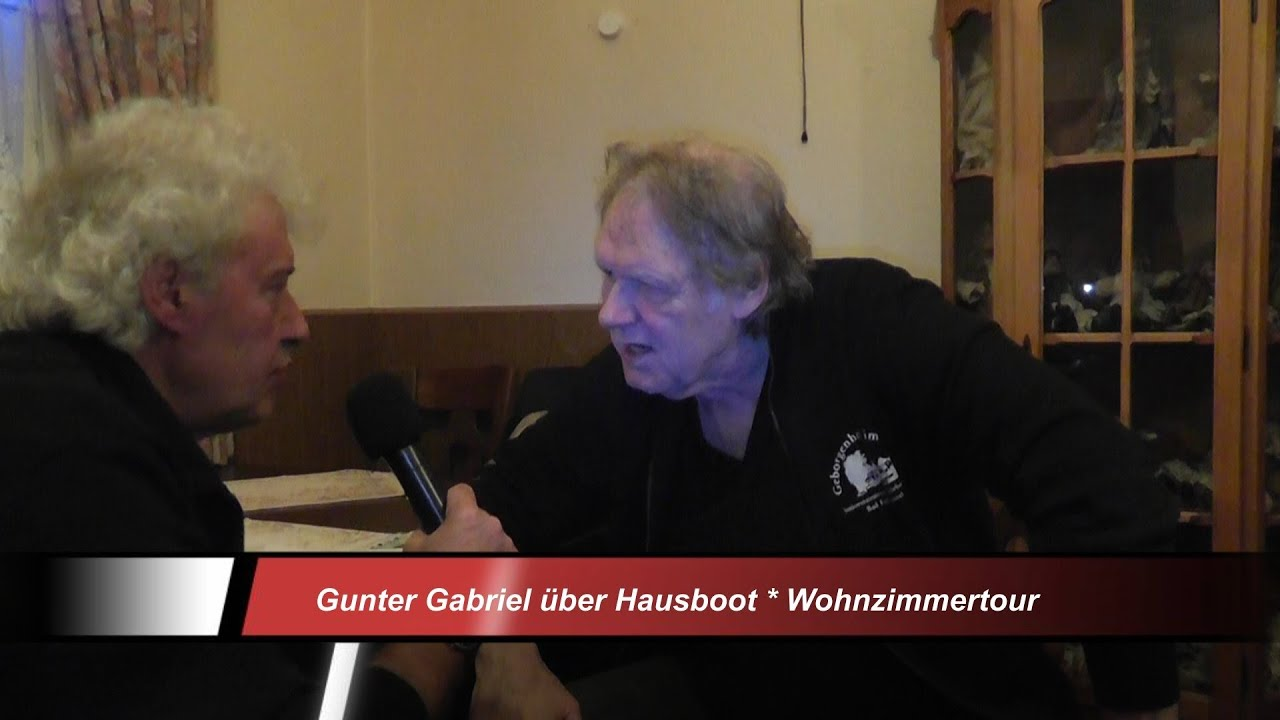 gunter gabriel wuppertal jever eck hausboot schippert nach berlin wohnzimmertour youtube. Black Bedroom Furniture Sets. Home Design Ideas