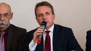 Inwestycje w Ostrowi Mazowieckiej - konferencja prasowa (13.04.2018)