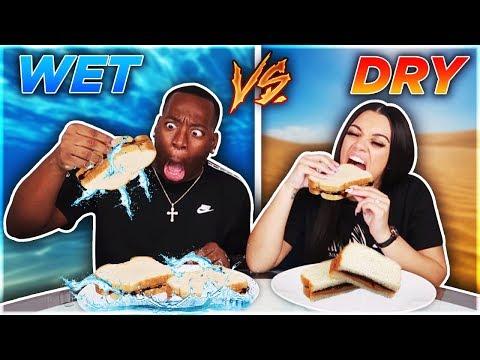 WET VS DRY CHALLENGE!