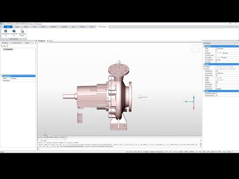 BricsCAD Plugin: 3D CAD Models for Mechanical & Electrical Engineering