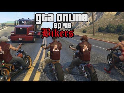 GTA 5 online lol ep 49 Bikers update, MC, Driewielers, Bikers meppen, Bakpoeder