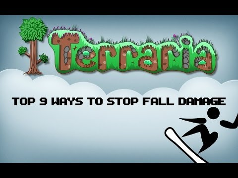 Terraria TOP 9 Ways How To Stop Fall Damage