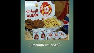 Jumma mubarak /making palak chicken /dinner albaik /pakistani mom in jeddah