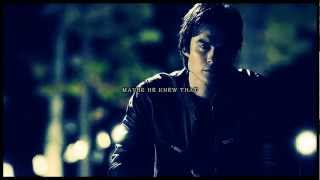 damon and elena   how can you stand before the devil and an angel look like smiling
