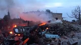 Сирия сбит Российский истребитель | Пилот убит | Сирия самолет новости Су-25