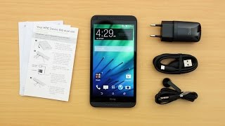 HTC DESIRE 816G UNBOXING