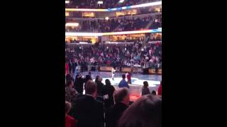 Amazing 9 Yr Old Sings National Anthem At Memphis Grizzlies
