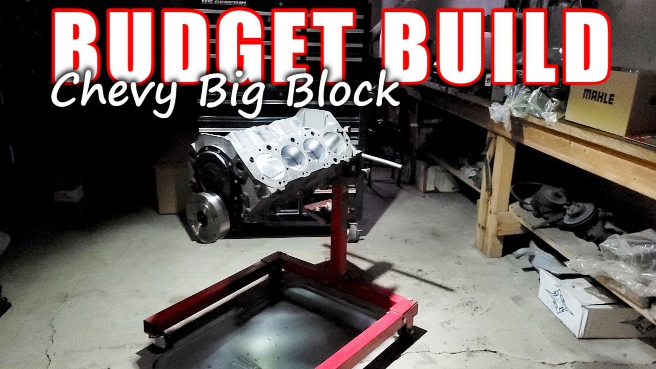 BUDGET Chevy Big Block Build! - Part 1 of 3 ( Short Block Assembly )