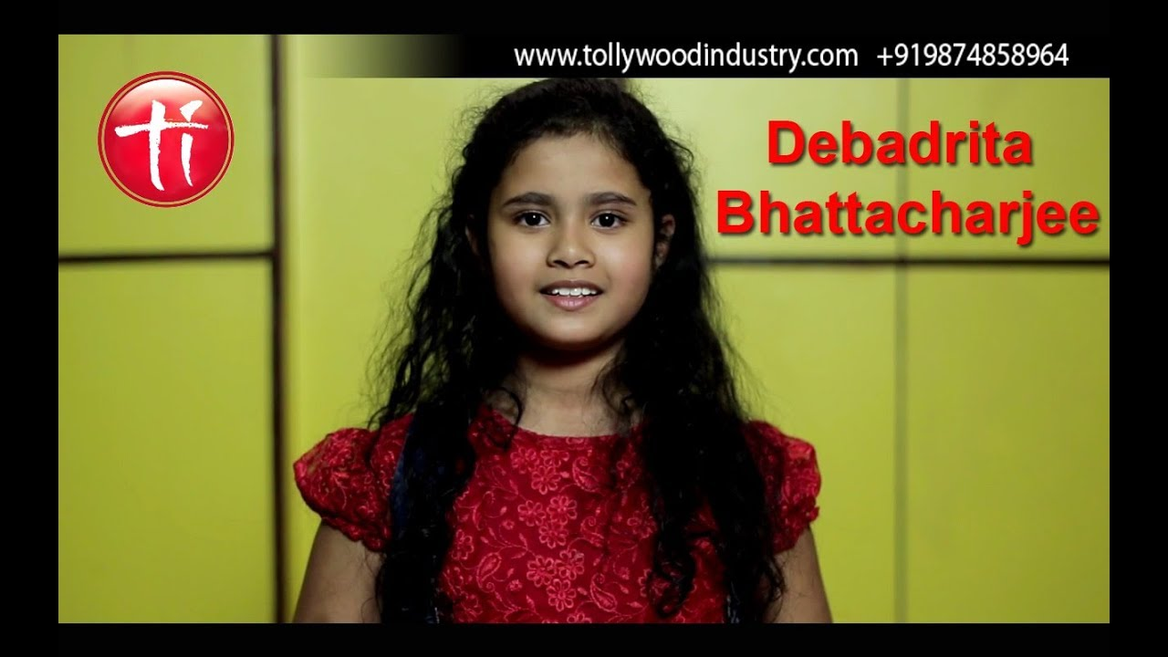 Audition of Debadrita Bhattyacharjee for a bangla serial