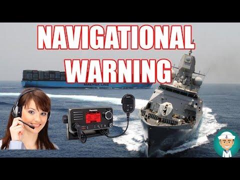 Navigational Warning VHF Communication