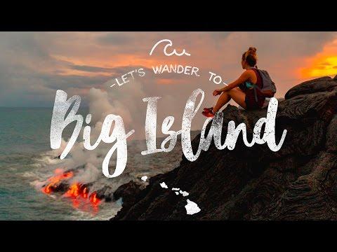 4 DAYS in BIG ISLAND, Hawaii - MUST VISIT Locations!
