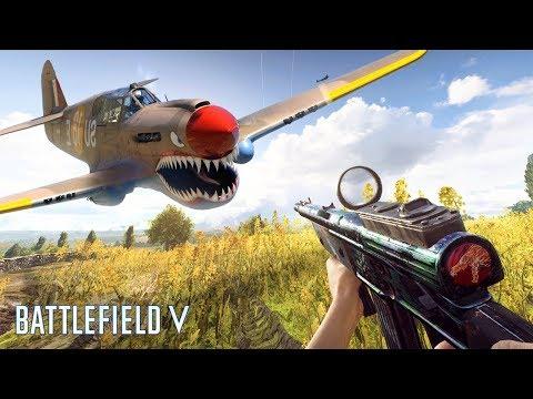 СУПЕР СЕКРЕТНЫЙ САМОЛЁТ в Battlefield 5 (или секретные баги BF5)