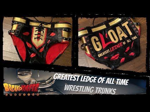 Wrestling Trunks Tutorial (Adam Brooks Wrestling Gear)