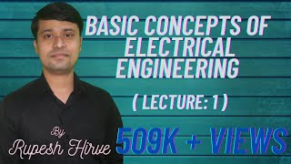 lecture 1 Basic Concepts of Electrical Engineering.(This video is on basic concepts of electrical engineering. During learning please write down important points and equations for better understanding., 2016-01-08T04:13:55.000Z)