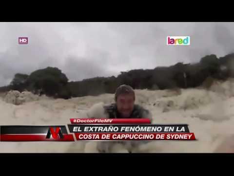 Espuma marina: El extraño fenómeno que ocurrió en Sydney