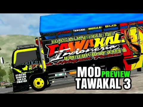 Tawakal 3 Versi Game Bus Simulator Indonesia Mod Youtube