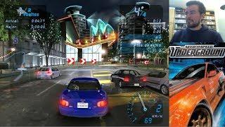 NEED FOR SPEED UNDERGROUND (PC / PS2) - Carreras callejeras || Gameplay en Español