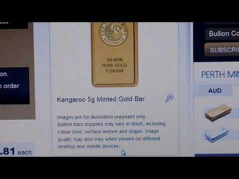 STOP!! DON'T BUY PERTH MINT GOLD BARS UNTIL YOU WATCH THIS!!   LCS Pickup Too!