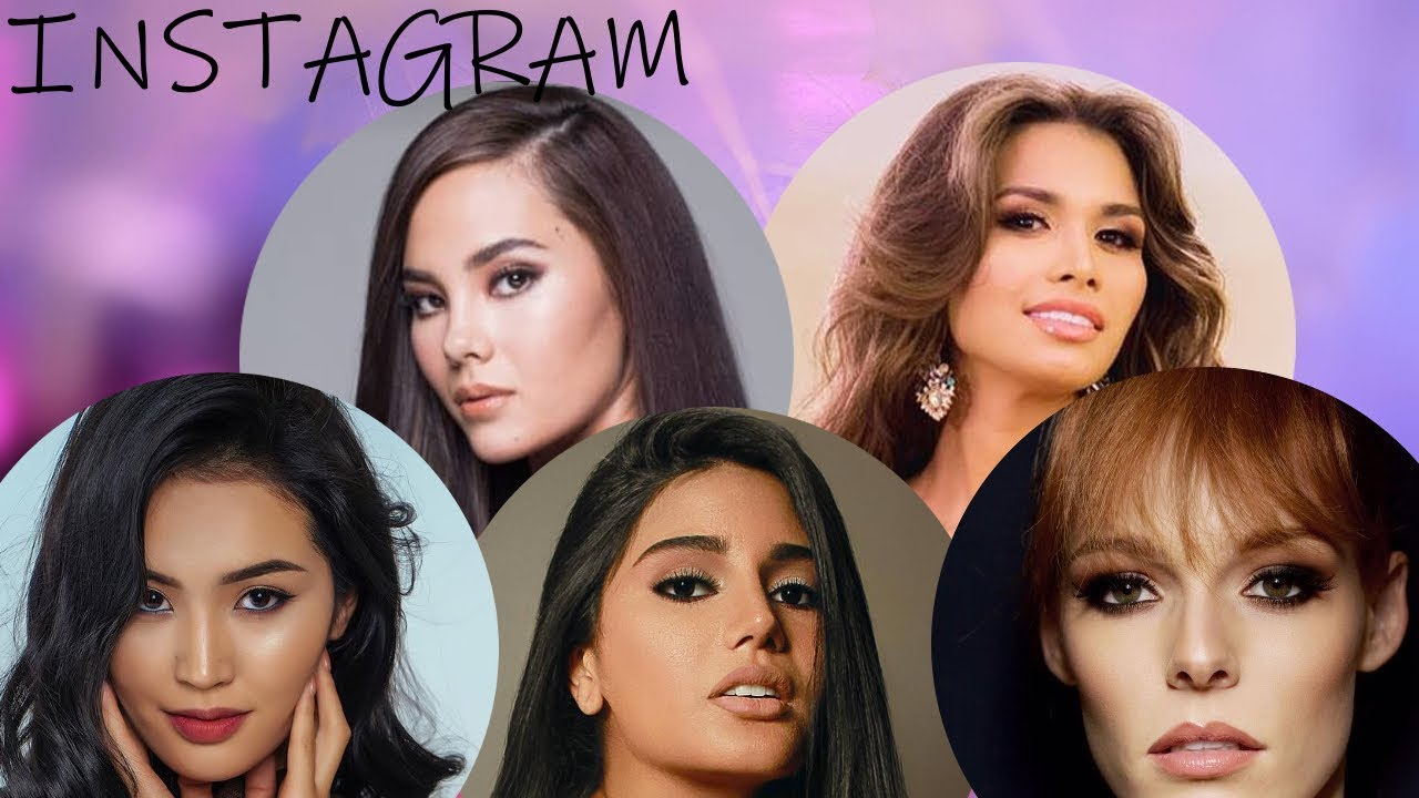 Top 15 Miss Universe 2018 Most Popular Contestants On Instagram
