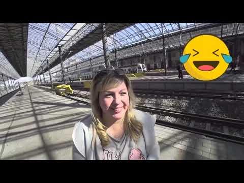Хельсинки#1😉Ж/Д вокзал;Покупка проездного.