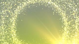 Вращение блестящих частиц фон