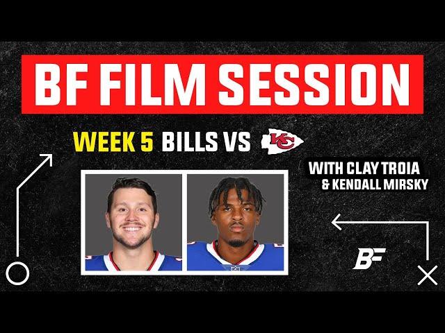 Buffalo Bills vs Chiefs: Week 5 Film Session
