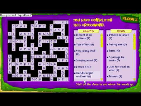 binweevils crossword answers  YouTube