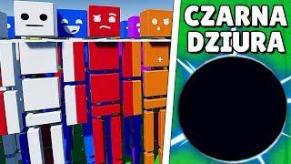 100 LUDZIKÓW vs CZARNA DZIURA ⚫ - JAK TO SIĘ SKOŃCZYŁO? | Fun with Ragdolls: The Game PL