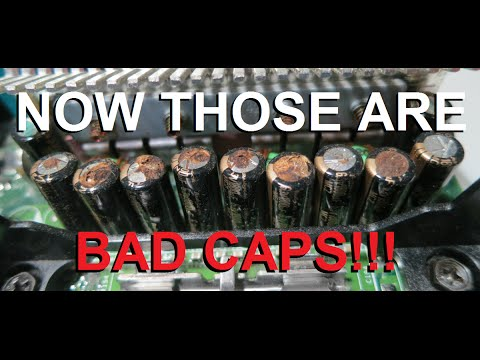 Will repairing bad capacitors fix the