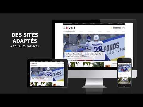 Nouveaux sites internet Groupe Capitales Médias