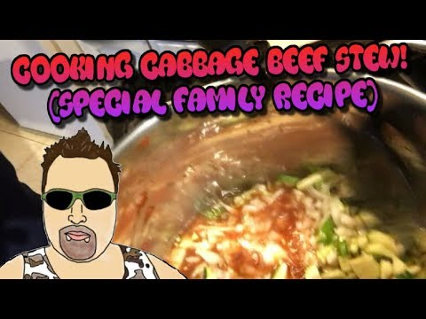 Cooking Cabbage Beef Stew! Special Recipe!