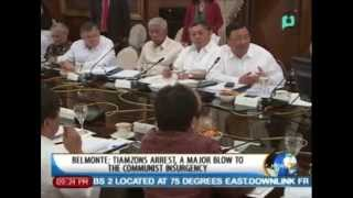 [NewsLife] Belmonte: Tiamzons arrest, a major blow to the communist insurgency