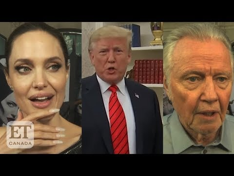 Jon Voight says Trump is the 'only man who can save this nation' in ...