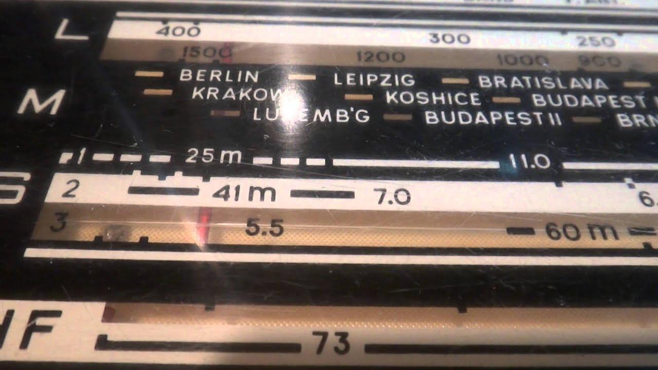 Радиоприемник SUPRA ST-123 - YouTube