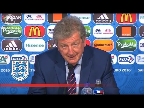 "Roy Hodgson on England's ""frustrating"" goalless draw v Slovakia (Euro 2016) 