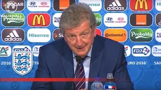 Roy Hodgson on England