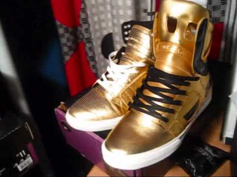 84cfc545ac hot supra skytop 2 black gold 14k goldies for sale tk youtube 404be 28420