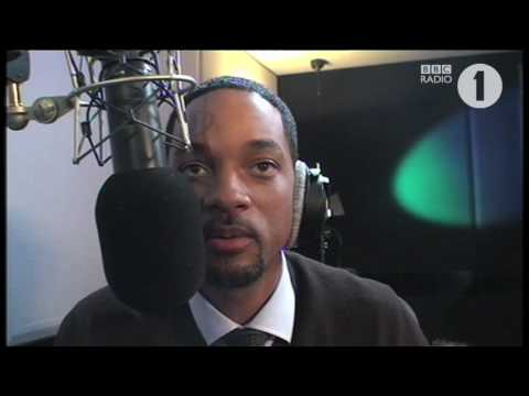 Will Smith & Chris Moyles with the Barack Obama Song